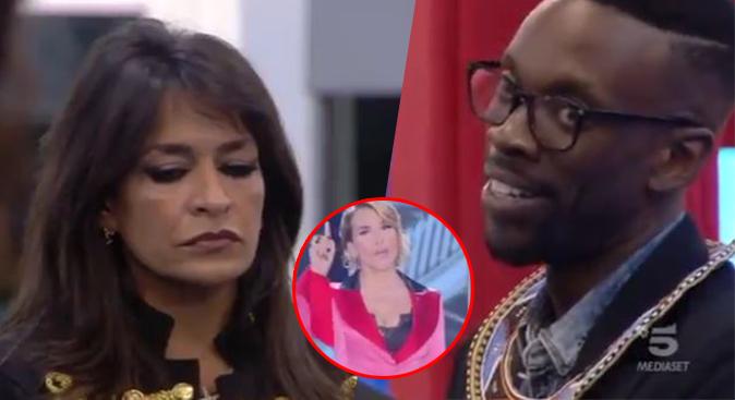 """Grande Fratello, Baye Dame non chiede scusa ad Aida: Barbara d'Urso furiosa, """"Mi hai delusa ancora!"""" (Video)"""