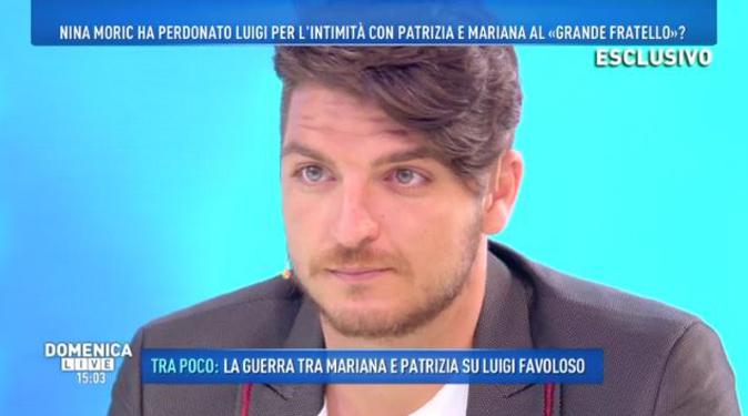 Domenica Live, Luigi Favoloso parla di Nina Moric e Barbara d'Urso lo difende: ecco perché