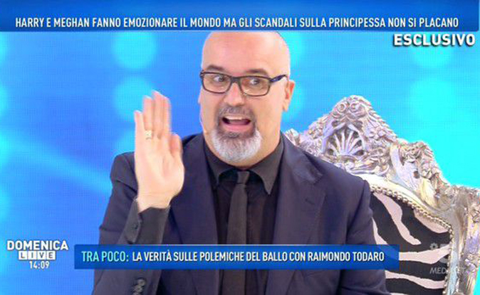 """Domenica Live, Giovanni Ciacci ospite di Barbara d'Urso: """"Non dovrebbero esserci rivalità tra reti…"""""""
