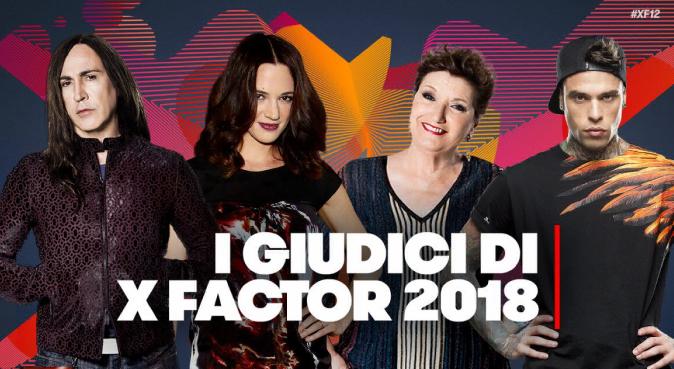 X Factor 2018, la giuria ufficiale della 12esima edizione: tre riconferme ed una new entry