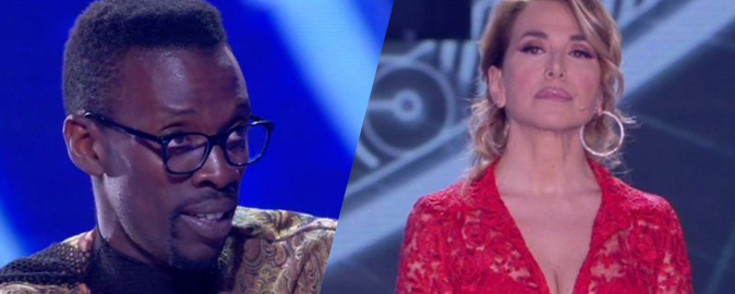 Grande Fratello 15, Baye Dame squalificato: Aida Nizar e Luigi Favoloso in nomination, Patrizia fuori