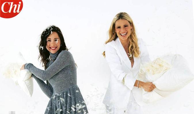 Michelle Hunziker e Aurora Ramazzotti raccontano 'Vuoi scommettere?', omaggio a Frizzi e primi ospiti