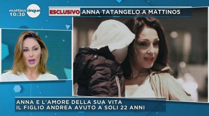 """Gossip news, Anna Tatangelo: """"Con Gigi D'Alessio rapporto sereno, nel mio futuro mi vedo ancora mamma"""""""
