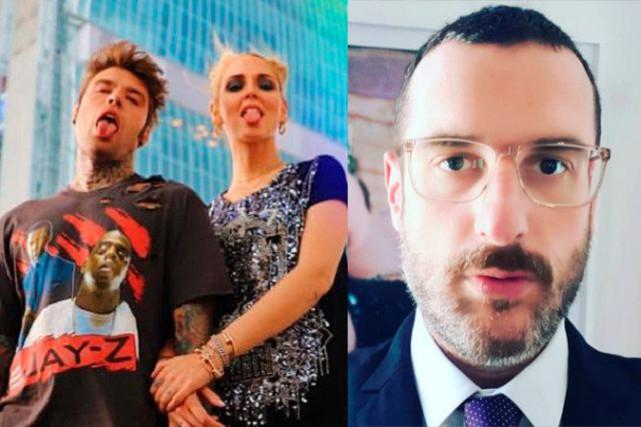 Fedez e il tweet di Costantino Della Gherardesca contro Chiara Ferragni: il botta e risposta su Twitter