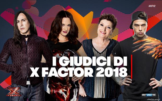 X Factor 2018, assegnate le categorie ai giudici: verso gli Home Visit, appuntamento da settembre