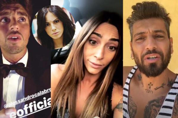 """Uomini e Donne, Alessandro Calabrese lancia la bomba: """"Andrea Damante ha tradito Giulia con Sonia Lorenzini!"""""""