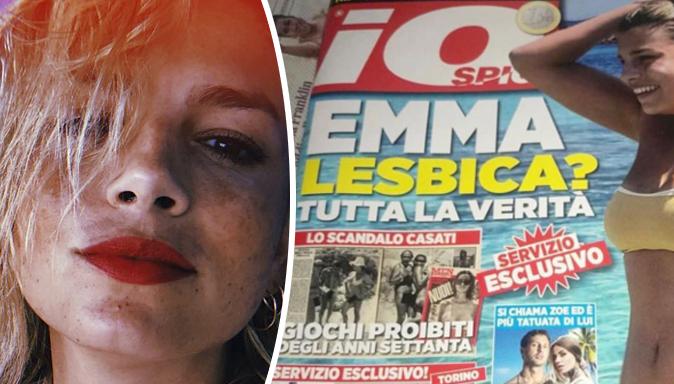 """Emma Marrone lesbica? La cover di """"Io spio"""" ci riporta al Medioevo: il sostegno dei vip e la replica"""