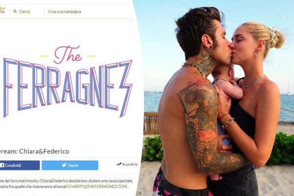 Fedez e Chiara Ferragni, il crowdfunding non decolla: ecco quanto hanno raccolto