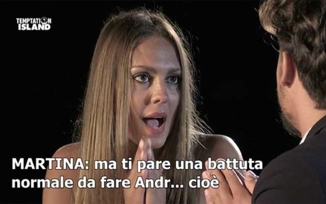 Temptation Island, ultimi falò di confronto per Lara e Michael, Martina e Giampaolo e Rafaela e Andrea