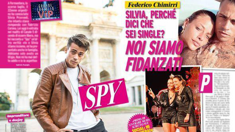 """Grande Fratello Vip, Federico Chimirri su Silvia Provvedi: """"Dice di essere single ma sta con me!"""""""