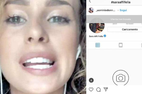 Sara Affi Fella, Uomini e Donne: l'agenzia e gli sponsor l'abbandonano, profilo Instagram chiuso
