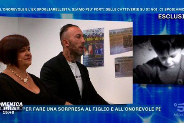 """Stefania Pezzopane e Simone Coccia a Domenica Live: """"Ci sposeremo ma non sappiamo quando!"""""""