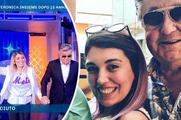 Domenica Live, Bobby Solo e Veronica Satti s'incontrano: le lacrime di Barbara d'Urso tra gli applausi