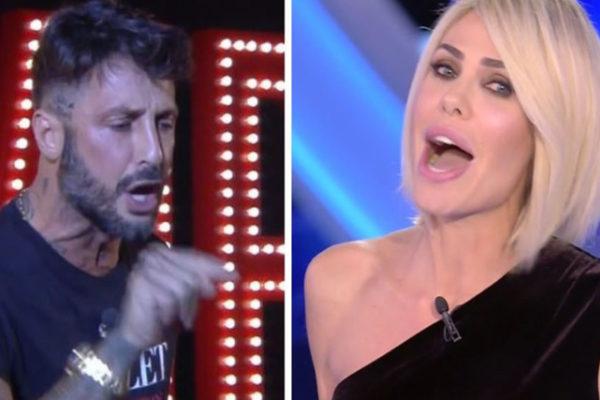 GF Vip, Fabrizio Corona: dopo il confronto con Ilary Blasi distrugge un camper, Mediaset gli chiede i danni