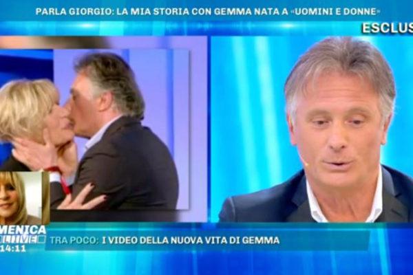Giorgio Manetti, dal trono over a Domenica Live: Gemma Galgani? Nessun ritorno! E sulla Marchesa dice…