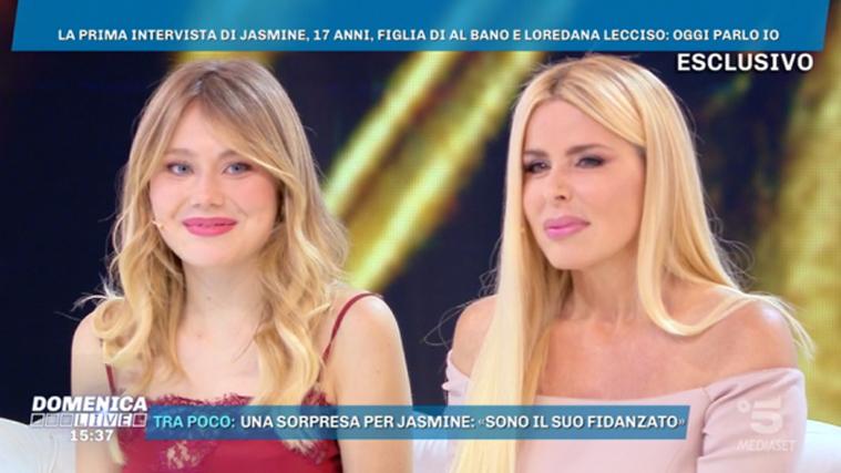 Jasmine Carrisi a Domenica Live: la figlia di Al Bano e Loredana Lecciso, le dichiarazioni dalla d'Urso