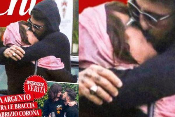 """Asia Argento e Fabrizio Corona, nuova coppia da """"copertina"""": """"Il dolore ci accomuna!"""""""