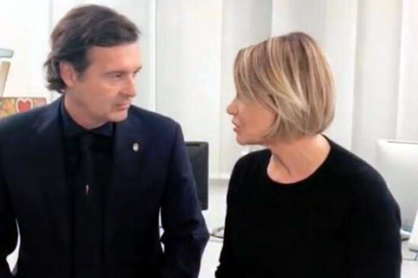 """Simona Ventura e Gerò Carraro si sono lasciati, il video dell'addio: """"Ti voglio bene e te ne vorrò sempre!"""""""