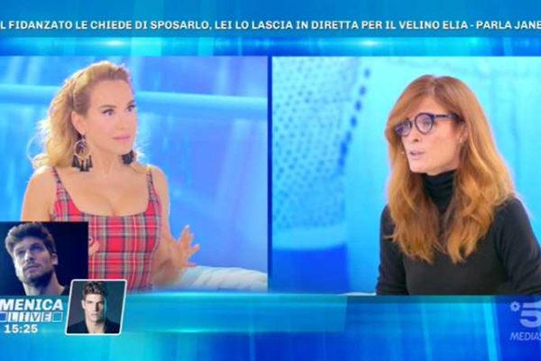 Domenica Live, Jane Alexander ed Elia Fongaro si sbottonano: la verità sul loro rapporto
