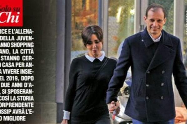 Gossip news, Ambra Angiolini difende Massimiliano Allegri sui social: la coppia cerca casa a Milano
