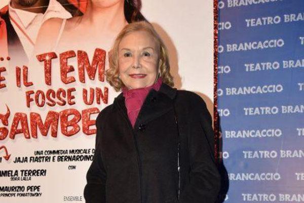 """Iaia Fiastri è morta: addio alla regina della commedia musicale, suo il capolavoro """"Aggiungi un posto a tavola"""""""