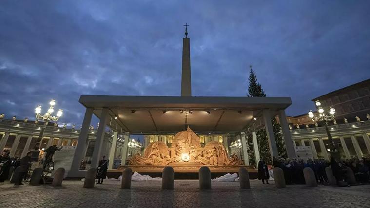 Messa della Notte di Natale, Rai 1: Papa Francesco in 4K HDR nella Basilica di San Pietro
