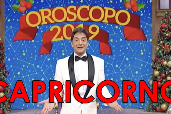 Oroscopo 2019 Paolo Fox, Capricorno: previsioni e grafico mese per mese