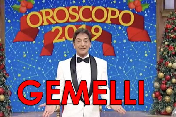 Oroscopo 2019 Paolo Fox, Gemelli: previsioni e grafico mese per mese
