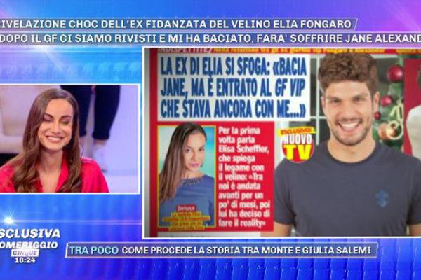 "Elia Fongaro, l'ex Elisa Scheffler avverte Jane Alexander ""Ti farà soffrire!"". Nuovo scoop: è bisessuale?"