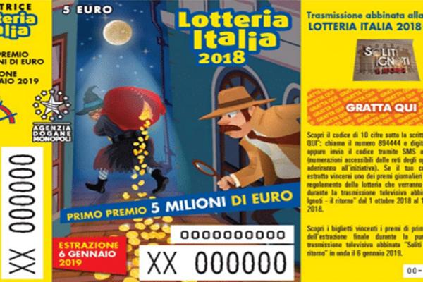 Lotteria Italia 2019, biglietti vincenti: Campania al top, ecco come incassare il premio in denaro