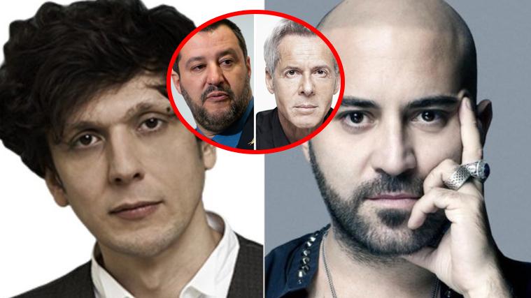 Sanremo 2019, Ermal Meta e Giuliano Sangiorgi dalla parte di Baglioni e contro Salvini: le dichiarazioni
