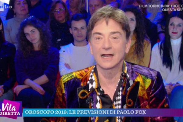 Oroscopo 2019 Paolo Fox, La Vita in Diretta: Sagittario al top, Cancro meno fortunato, Scorpione sexy