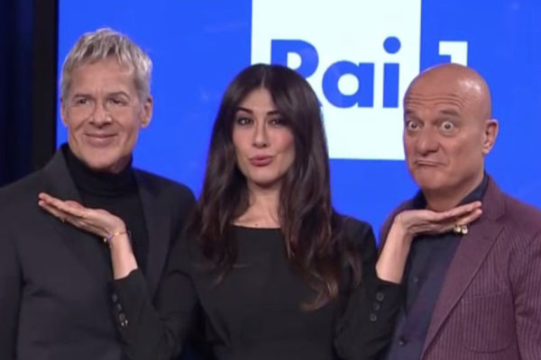 "Sanremo 2019, Claudio Bisio: ""Migranti e le parole di Baglioni? No comment, ne parlerò all'Ariston"""
