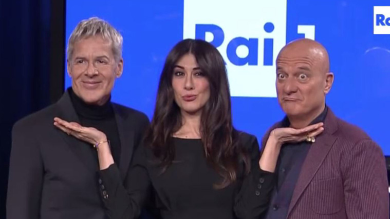 """Sanremo 2019, Claudio Bisio: """"Migranti e le parole di Baglioni? No comment, ne parlerò all'Ariston"""""""