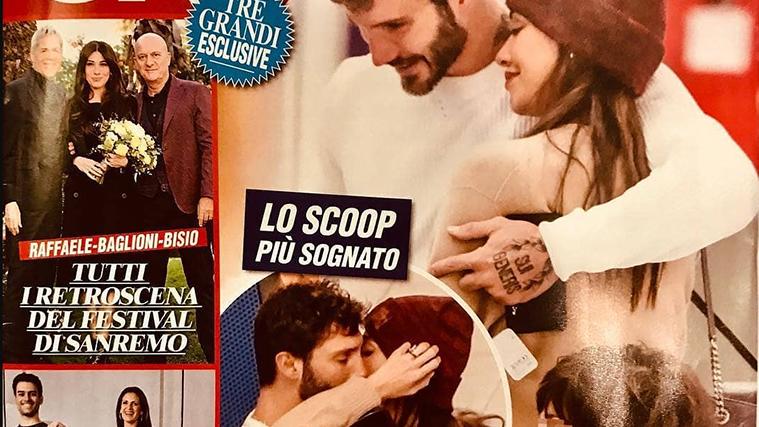 Belen Rodriguez e Stefano De Martino sono tornati insieme: il bacio davanti a Santiago, il gossip impazza