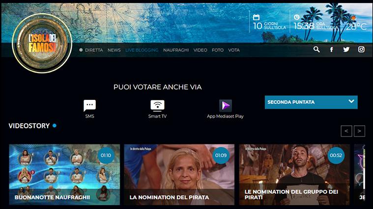 Isola dei Famosi 2019 diretta streaming 13 febbraio, quinta puntata: social, daytime, televoto e live blogging