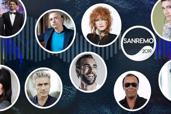 Sanremo 2019, ospiti e Big in gara: ecco tutte le canzoni del Festival