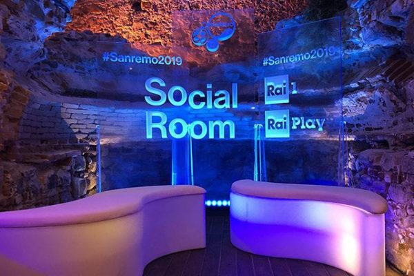 Sanremo 2019, social room, contenuti RaiPlay, canale YouTube e streaming: guardare il Festival dal web