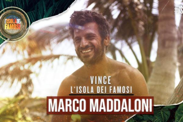Isola dei Famosi 2019, Marco Maddaloni vince: Marina La Rosa al secondo posto