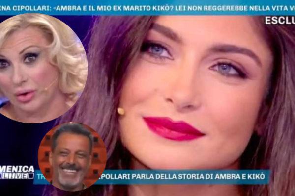 """Ambra Lombardo """"risponde"""" a Tina Cipollari: il figlio di Kikò Nalli """"sbotta"""" ancora"""