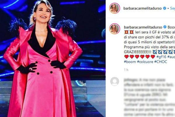 Ascolti tv Grande Fratello 2019: boom per il reality di Barbara d'Urso! Picchi del 37% di share