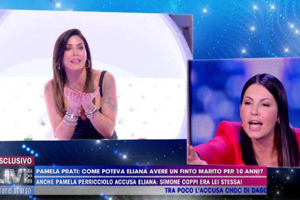 """Eliana Michelazzo e Guendalina Tavassi: scontro in tv, Signoretti """"conflitto di interessi, vergogna!"""""""