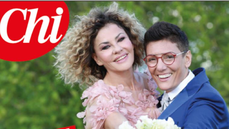 Eva Grimaldi e Imma Battaglia si sono sposate, matrimonio in TV: tutti i dettagli
