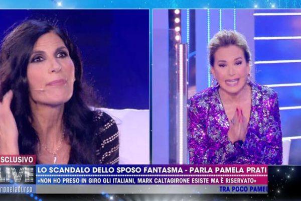 Pamela Prati lascia anche lo studio di Live Non è la d'Urso: lo sfogo nel backstage – VIDEO