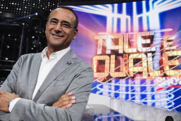 """Tale e Quale Show 2019, Carlo Conti: """"Ecco perchè in questa edizione ci sono vip poco noti"""""""