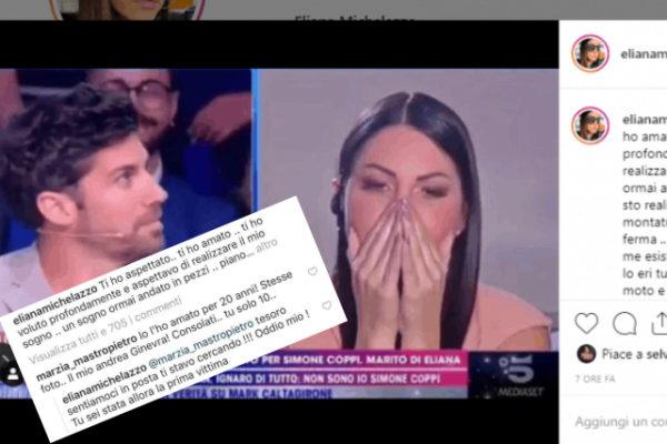 """Eliana Michelazzo """"addio"""" a Simone Coppi: spunta un'altra donna che lo ha amato…"""