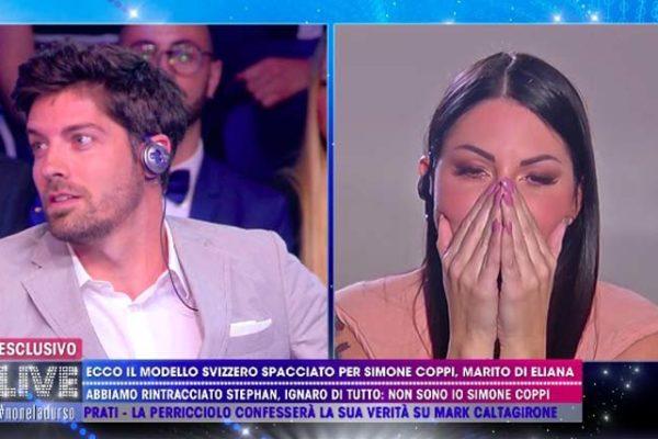 """Eliana Michelazzo, parla il finto Simone Coppi: """"Spero non c'entri ma per me è finita qui"""""""