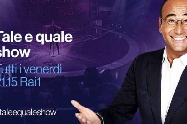 """Carlo Conti, Tale e Quale Show 2019: """"Il cast? Variegato! Ma non è stato facile…"""""""