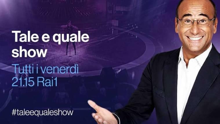 Carlo Conti, Tale e Quale Show: confermata la giuria, le novità del cast