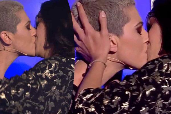 Antonella Lo Coco sposa Elisa: sorpresa della fidanzata, bacio e nuovo singolo